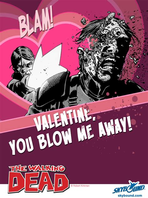 the walking dead valentines cards walking dead 6 daily dead