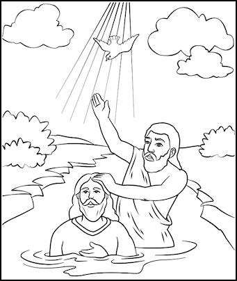 printable coloring pages john the baptist john the baptist coloring page