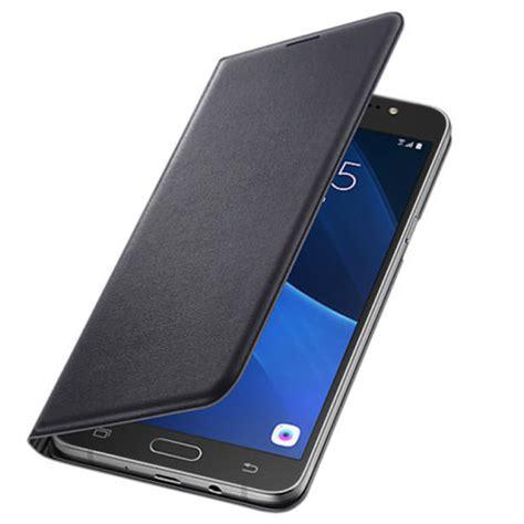 Flip Flip Cover Samsung J7 official samsung galaxy j7 2016 flip wallet cover black