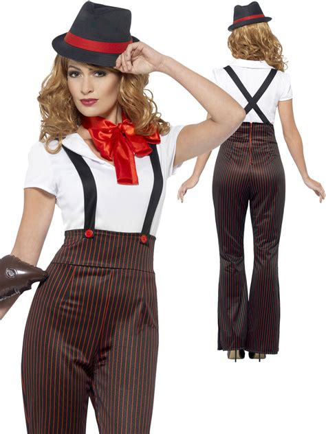 party outfits for women in their 20s ladies glam gangster costume adults 1920s moll fancy dress