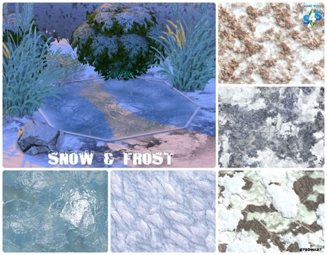 Painting Tile Walls In Bathroom by Snow Amp Frost Terrain Paints At 27sonia27 187 Sims 4 Updates
