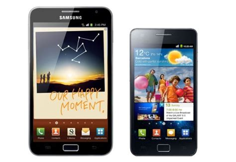 best android 2011 2012 samsung galaxy note 2 itf samsung galaxy s and s2 top 50 million sales galaxy note
