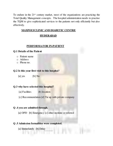 patient satisfaction thesis a dissertation report on analysis of patient satisfaction