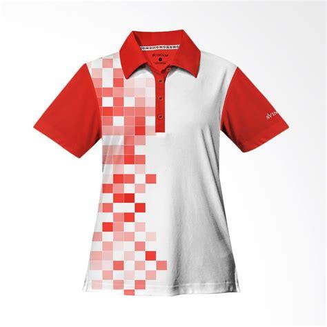 jual baju golf jual svingolf 8 bit polo flag red baju golf wanita online