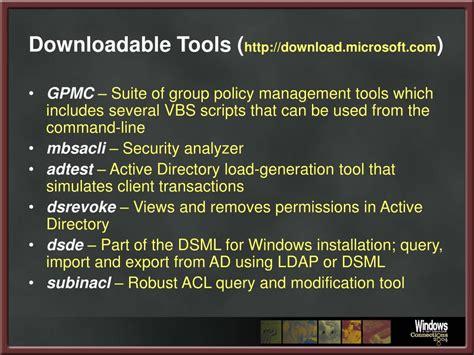 windows server  command  tools powerpoint