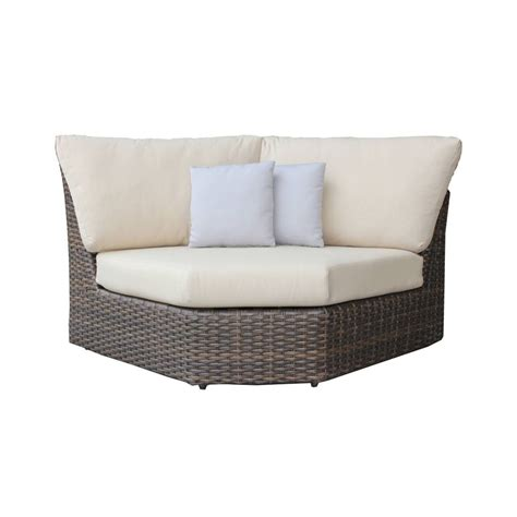 sectional corner chair ratana portfino sectional curved corner chair leisure living