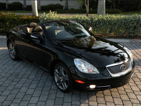 lexus sc430 for sale florida 2009 lexus sc 430 fort myers florida for sale in fort