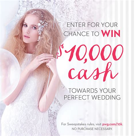 win 10 000 cash to put towards your perfect wedding - Win Wedding Money 2016