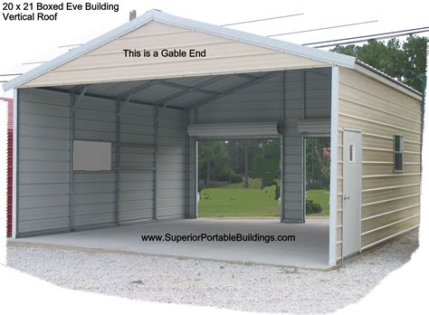 Closed Carport This Is A 20 X 21 Boxed Carp
