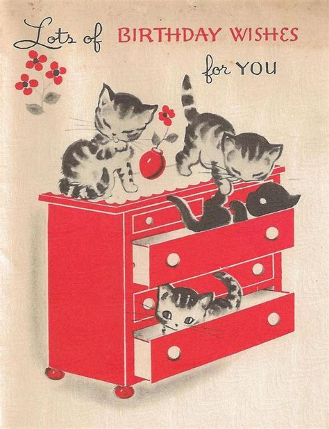 25 best ideas about vintage birthday cards on 25 best ideas about vintage birthday cards on