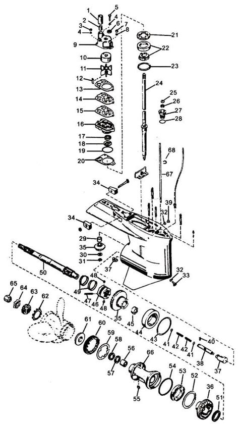 mercury outboard motor replacement parts mercury outboard motor parts diagram automotive parts