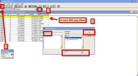 tutorial membuat website gis tutorial arcview gis 3 3 latihan cara membuat batas