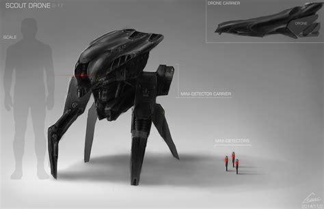design concept art scout drone design concept art by nobody00000000 on deviantart