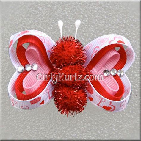 valentines hair bows amazing s day hair bows for 2014