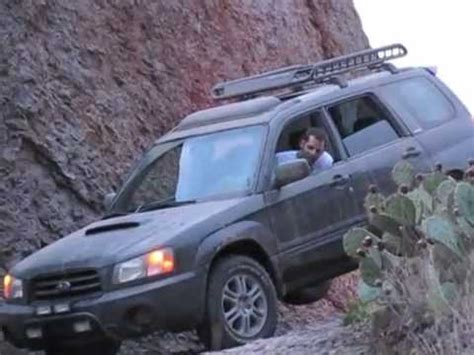 2010 subaru forester off road subaru forester off roading august 2010 youtube