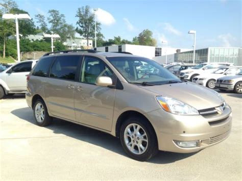 find used 2004 toyota sienna xle limited one owner 109950 miles no reserve in pomona