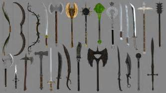 Cool weapons swords immersive weapons at oblivion