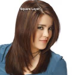 layer cut hair style for square different haircuts layered hair styles with pictures