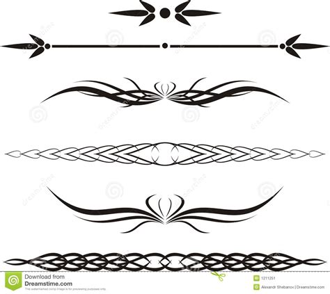 13 scroll line vector images free scroll design clip art - Decorative Line Scroll
