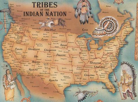 indian tribes of america map largest most detailed usa map and flag travel around the