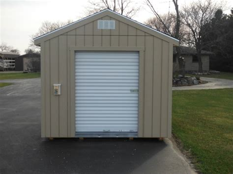 utility shed roll up doors images