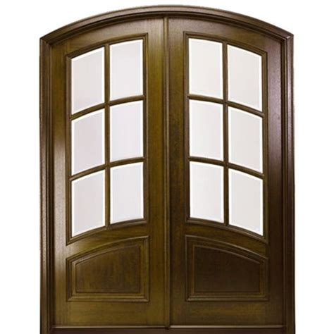 mai doors marfl6 2 eb pre hung eyebrow radius true divided