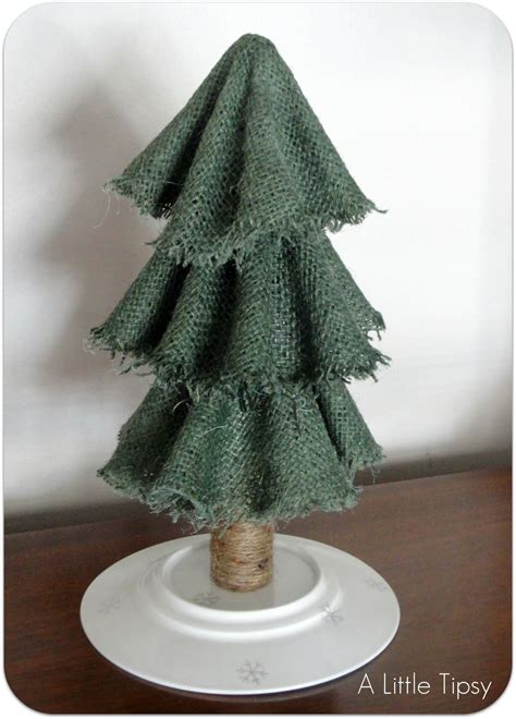 christmas creativity with burlap