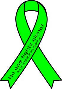lymphoma cancer color support lymphoma awarness clip at clker vector