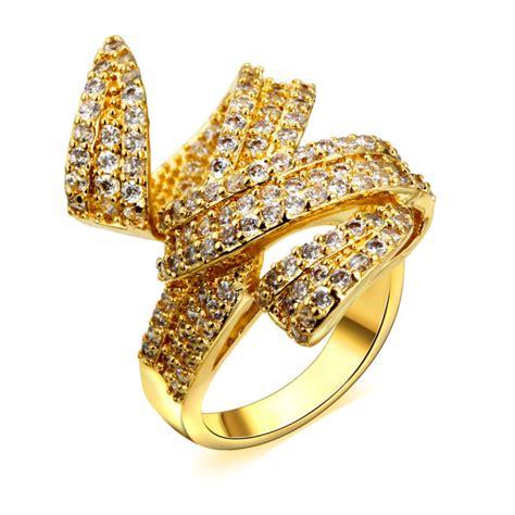 aliexpress buy woven design gold engagement