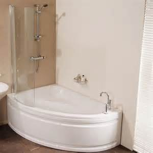 Shower For Bath Corner Bath Shower Screen Too Small Dream Home