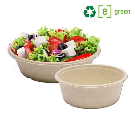 bã ro kaufen bagasse salatschale rund becher kompostierbar