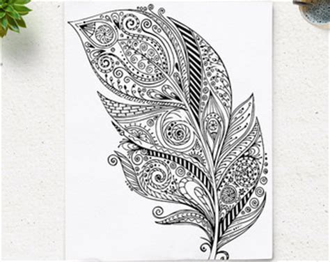 color therapy an anti stress coloring book philippines sale printable feather coloring page book