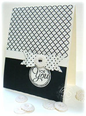 Modern Handmade Cards - 308 best images about black and white on