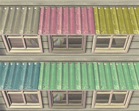 mod the sims seaside retreat awnings 15 recolors