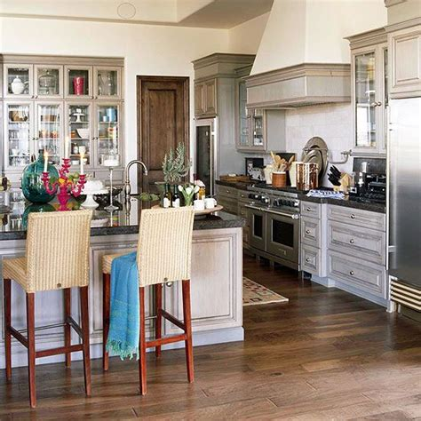 kitchen floor color ideas a light colored engineered wood flooring and white washed