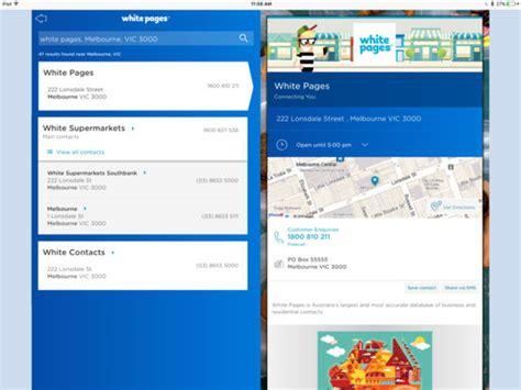 White Pages Australia Lookup White Pages Australia On The App Store