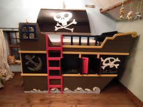 pirate ship bed modern diy art design collection