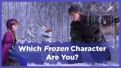 frozen film quiz which quot frozen quot character are you i got hans it said well