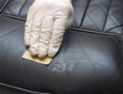 Leather Scuff Repair by How To Repair Scratched Leather Furniture And Leather Car