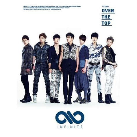 Infinite 2nd Album Repackage Be Back Limited style infinite list album