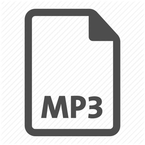 format file to mp3 audio document extension file format mp3 music icon
