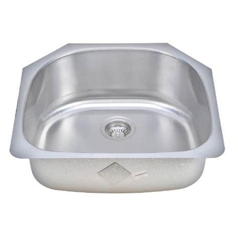 d shaped undermount stainless steel sink wells sinkware 18 gauge d shape single bowl undermount