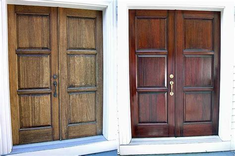 Refinishing Exterior Door Homeofficedecoration Refinish Exterior Door