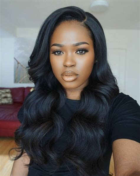 picture of black hairstyles sawen in 17 best ideas about weave hairstyles on pinterest