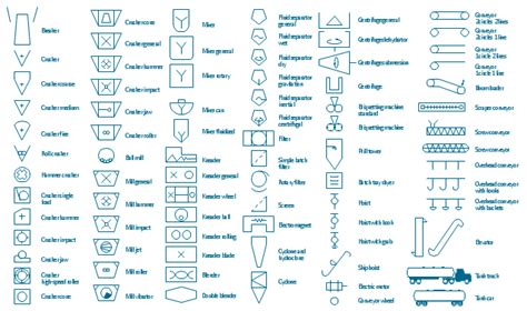 visio p id shapes design elements industrial equipment