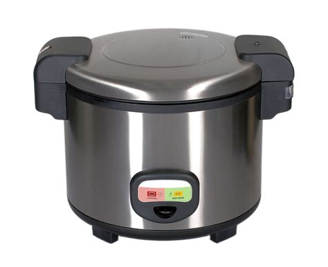 Rice Cooker Solid commercial quality stainless steel rice cooker with a 12 month commercial warranty