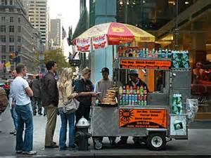 City Of Vendor Fifth Avenue Vendor Manhattan New York Nyc Usa