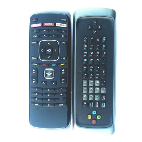 New Xrv13d Qwerty Keyboard Remote Control For Vizio