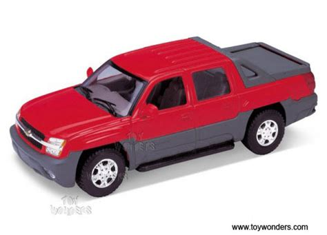 Diecast Welly Chevrolet Avalanche 2002 chevrolet avalanche by welly 1 24 scale