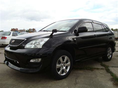 toyota english toyota harrier manual in english